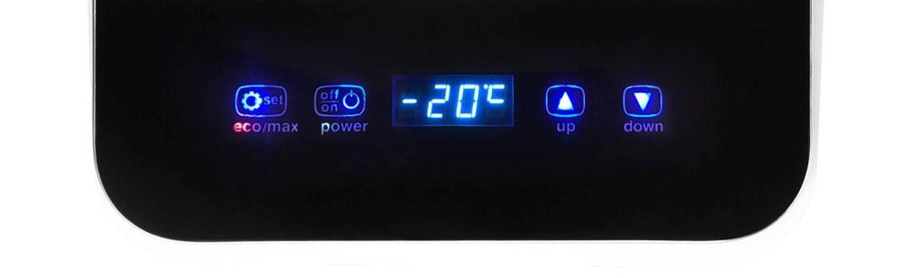 Autochladnička Arie BP18 displej